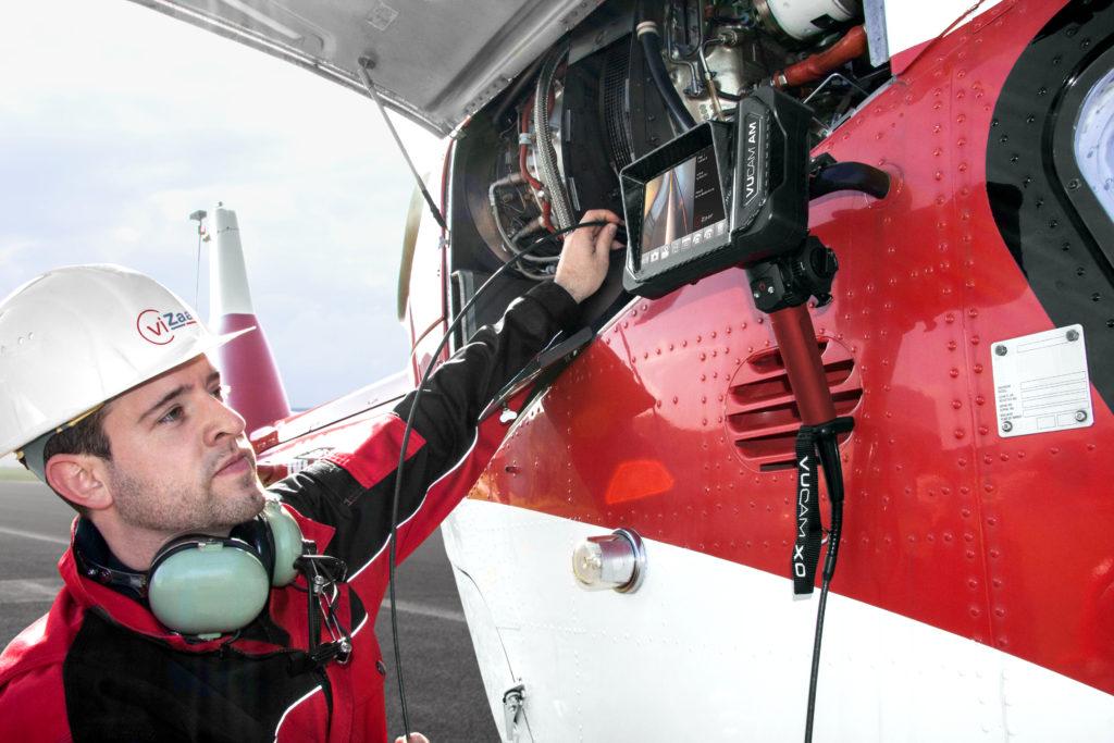 zerstörungsfreie Prüfung Helikopter