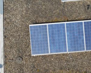 Solarzellen neutrale Sicht