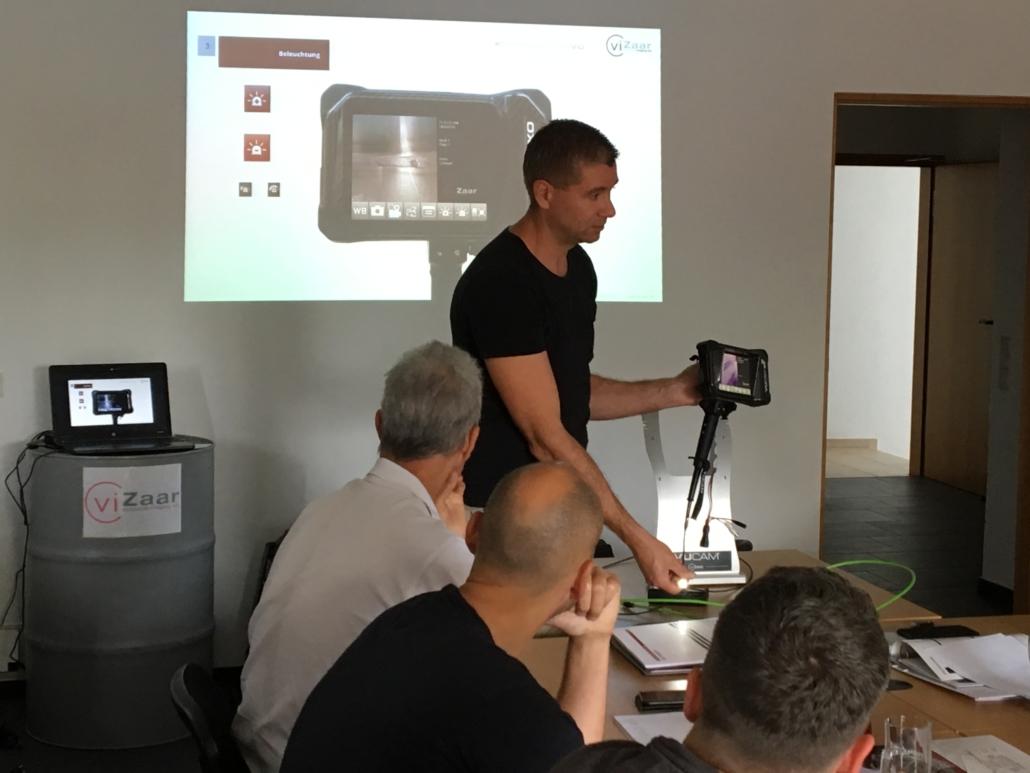 Videoskop Produktschulung VUCAM