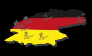 Deutschland-Hochspannungsleitungen