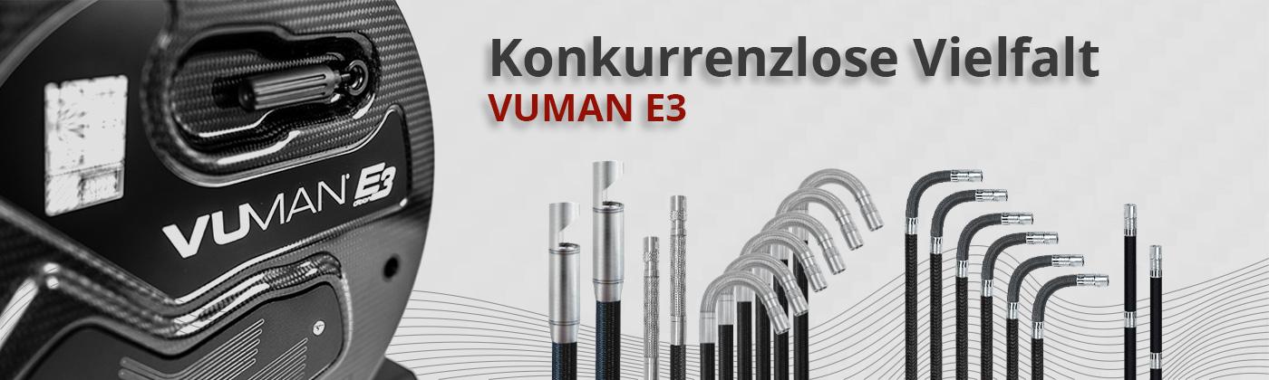 Sondenvielfalt VUMAN E3